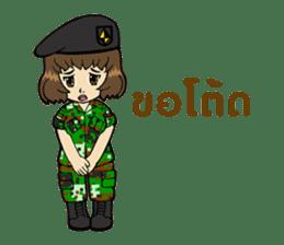 Pretty Soldier sticker #9954222