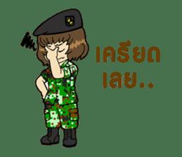 Pretty Soldier sticker #9954223