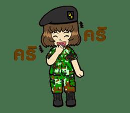 Pretty Soldier sticker #9954225
