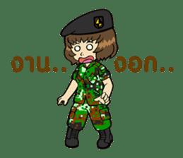 Pretty Soldier sticker #9954227