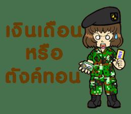 Pretty Soldier sticker #9954229