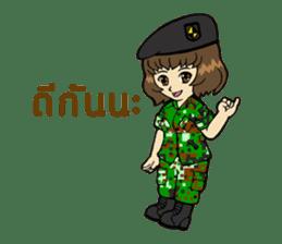 Pretty Soldier sticker #9954230