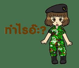 Pretty Soldier sticker #9954232