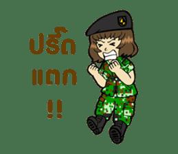 Pretty Soldier sticker #9954233