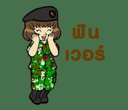Pretty Soldier sticker #9954236