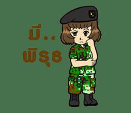 Pretty Soldier sticker #9954237