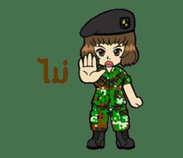Pretty Soldier sticker #9954238