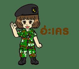 Pretty Soldier sticker #9954239