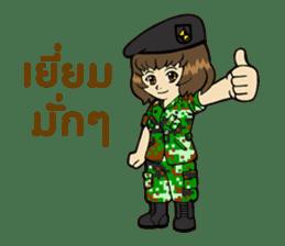 Pretty Soldier sticker #9954240
