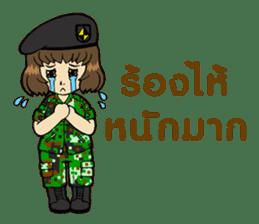 Pretty Soldier sticker #9954241