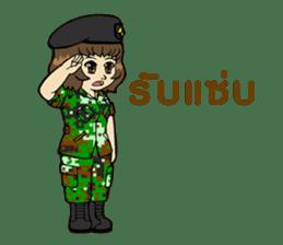 Pretty Soldier sticker #9954242