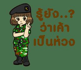 Pretty Soldier sticker #9954243