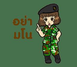 Pretty Soldier sticker #9954249