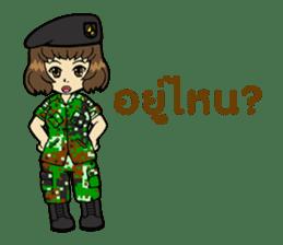 Pretty Soldier sticker #9954250