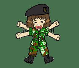Pretty Soldier sticker #9954251