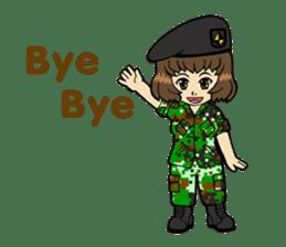 Pretty Soldier sticker #9954255