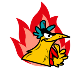 The Chicken MONSTERS sticker #9955943