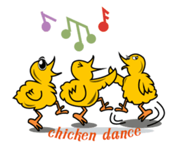 The Chicken MONSTERS sticker #9955947