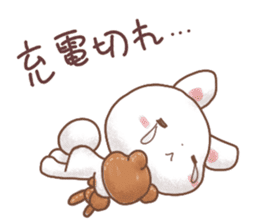 Rabbit & Bear's loves ticker.Rabbit ver. sticker #9958170