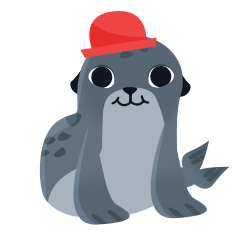 Seal - Funny Cartoon Set