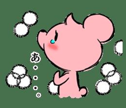 Cream of bear girls' comic ver sticker #9963890