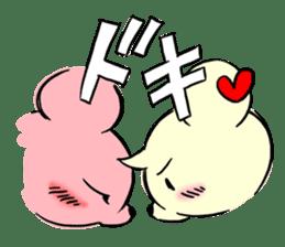 Cream of bear girls' comic ver sticker #9963895