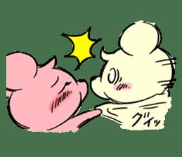 Cream of bear girls' comic ver sticker #9963901