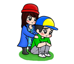 Lovey Dovey Boyfriend Girlfriend sticker #9969674