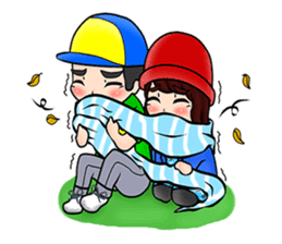 Lovey Dovey Boyfriend Girlfriend sticker #9969694