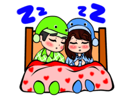 Lovey Dovey Boyfriend Girlfriend sticker #9969700