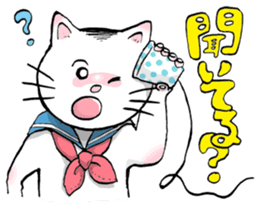 Hello Makichan sticker #9977488