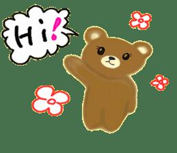 Kuma 's English lessons sticker #9991665