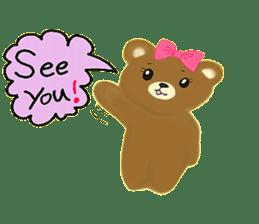 Kuma 's English lessons sticker #9991666