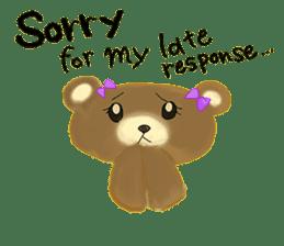 Kuma 's English lessons sticker #9991673