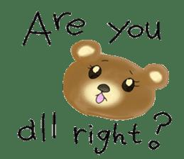 Kuma 's English lessons sticker #9991674