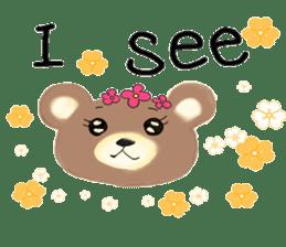 Kuma 's English lessons sticker #9991677