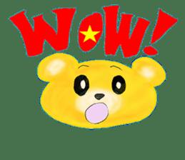 Kuma 's English lessons sticker #9991680
