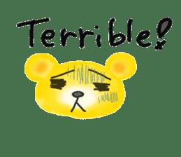 Kuma 's English lessons sticker #9991683