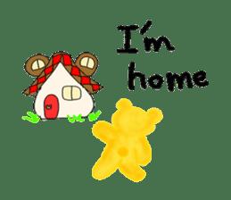Kuma 's English lessons sticker #9991690