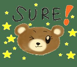 Kuma 's English lessons sticker #9991696