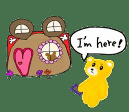 Kuma 's English lessons sticker #9991698