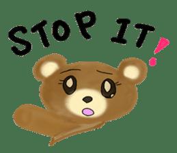 Kuma 's English lessons sticker #9991700