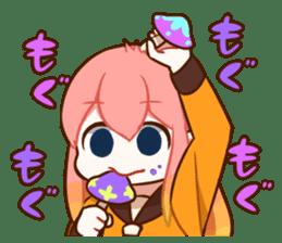 Student caramel sticker #9994082