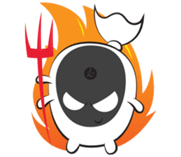 THE COCKROACH GHOST sticker #9994560