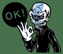 """""""Normal Mr.Skull's Life2"""" sticker #9999426"""