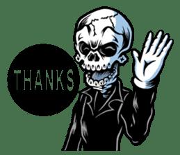 """""""Normal Mr.Skull's Life2"""" sticker #9999427"""