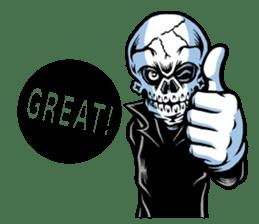 """""""Normal Mr.Skull's Life2"""" sticker #9999428"""