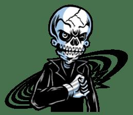 """""""Normal Mr.Skull's Life2"""" sticker #9999430"""