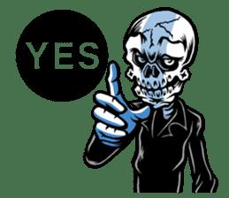 """""""Normal Mr.Skull's Life2"""" sticker #9999434"""