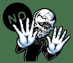 """""""Normal Mr.Skull's Life2"""" sticker #9999435"""